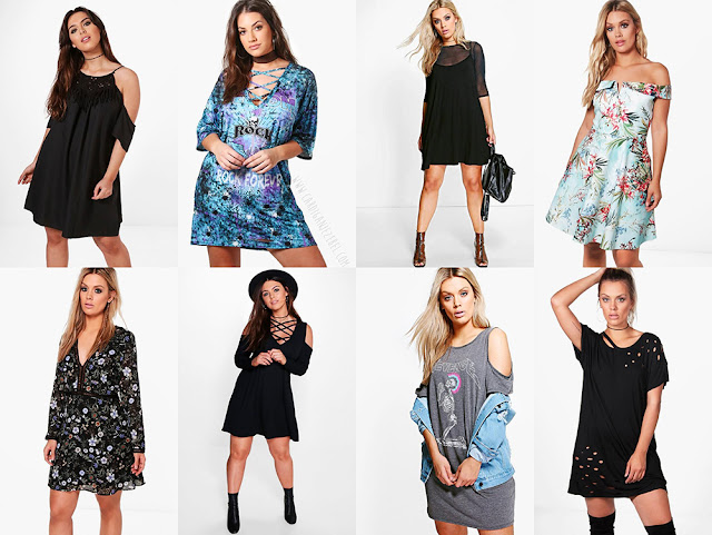 Boohoo plus size wishlist