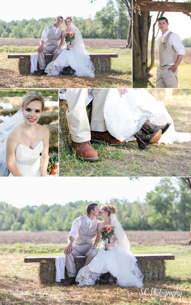 bridal cowboy boots, country wedding photographer, michigan weddings
