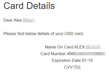[GIVEAWAY] Free Virtal Credit Card [100% APPROVAL]
