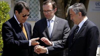 Turkisk forvantan pa grekcyprioter