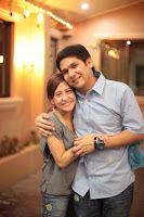 Mark Escueta and Jolina Magdangal photo