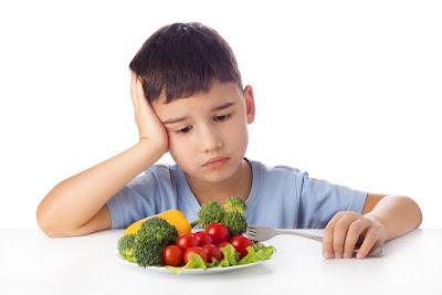 Penyebab Nafsu Makan Anak Menurun