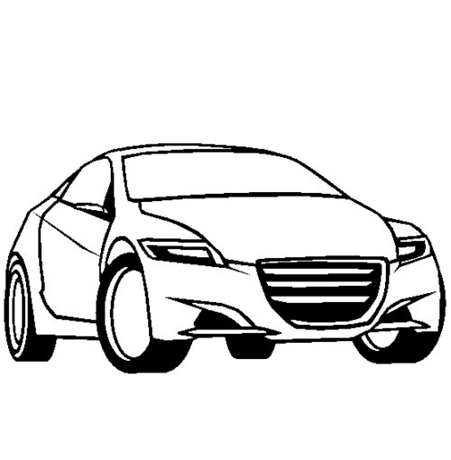 cars cartoon coloring pages - photo#47