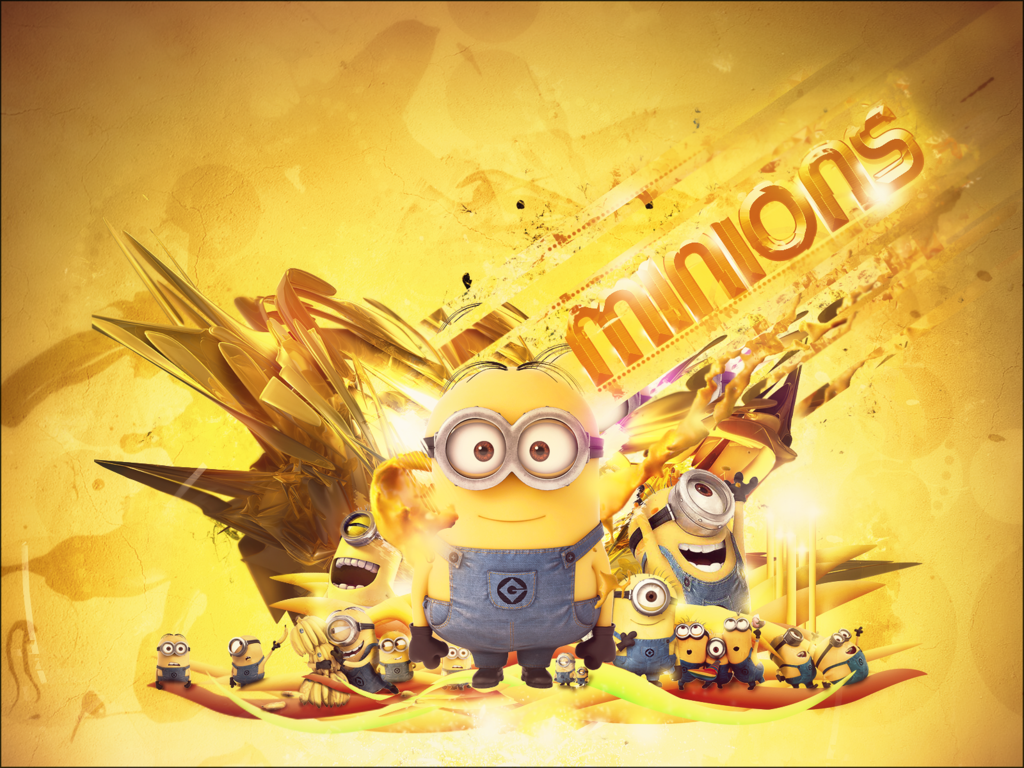 cute minions desktop wallpaper