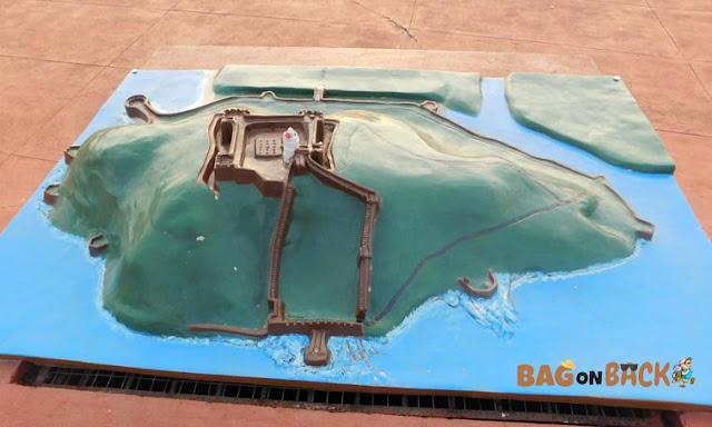 Model-of-Aguada-Fort-Goa