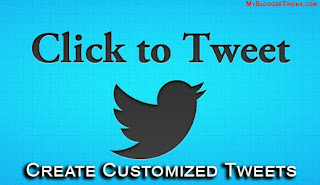 Click To Tweet - Create Customized Tweets
