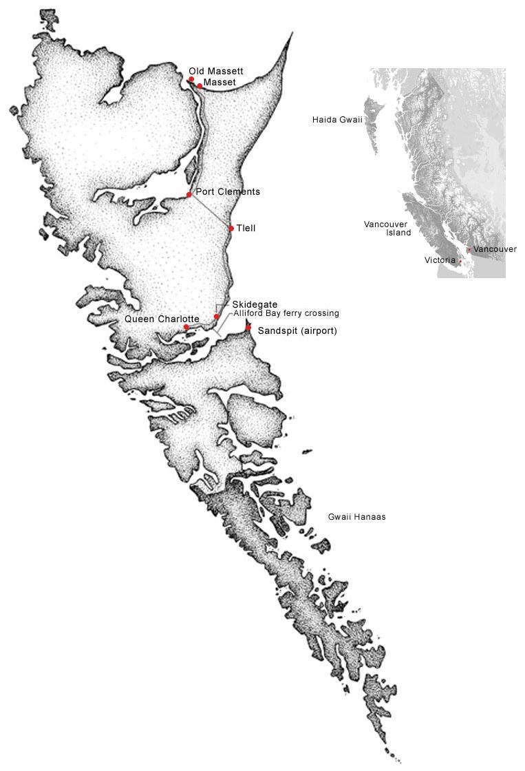 Áwaahl: Place-names on Haida Gwaii