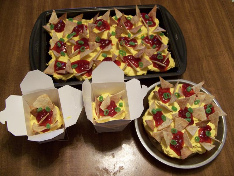 Near To Nothing April Fools Nachos Or Cupcakes
