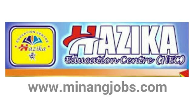 Lowongan Kerja Sumbar Hazika Education Centre Padang