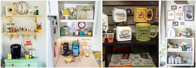 20 Coffee Corner Design Ideas At Home That You'll Love