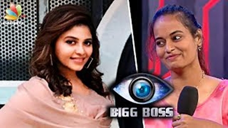 Anjali enters Bigg Boss house | Latest Vijay TV Tamil Show | Baloon Tamil Movie