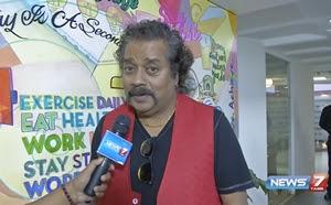 Singer Hariharan live concert in forum mall at Chennai