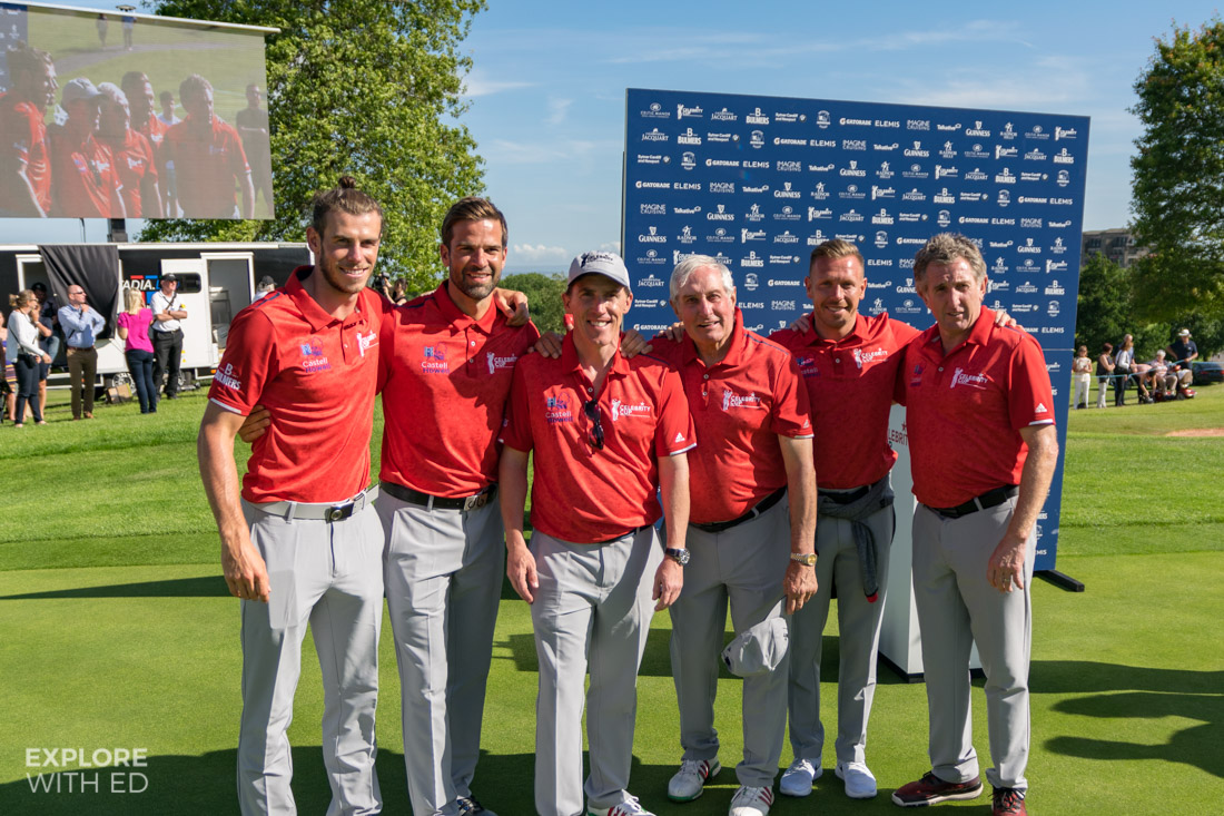 Team Wales photo at The Celebrity Cup 2017