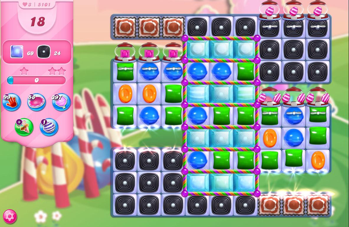 Candy Crush Saga level 5101