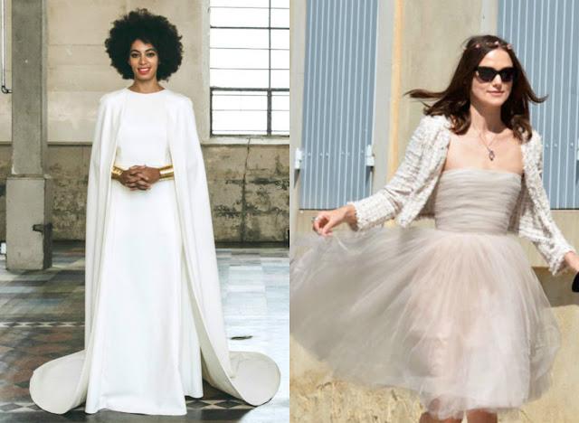 vestido de noiva solange knowels, keira knighly