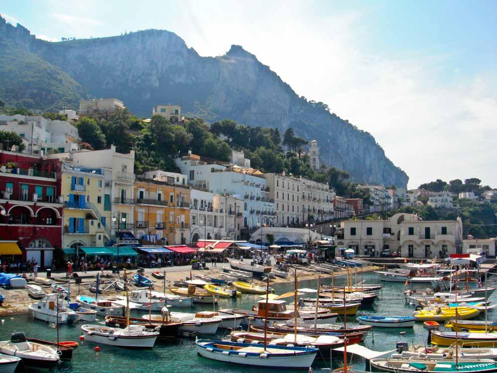 Capri | Cidade Turística da Itália