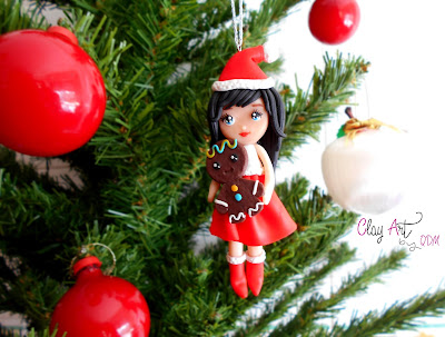 muñeca-navidad-fimo