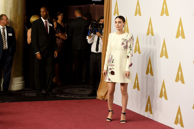 Carol & Pan actress Rooney Mara at Academy Awards Nominee Luncheon in Beverly Hills