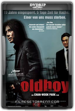 Oldboy Torrent DVDRip Dual Áudio 2003