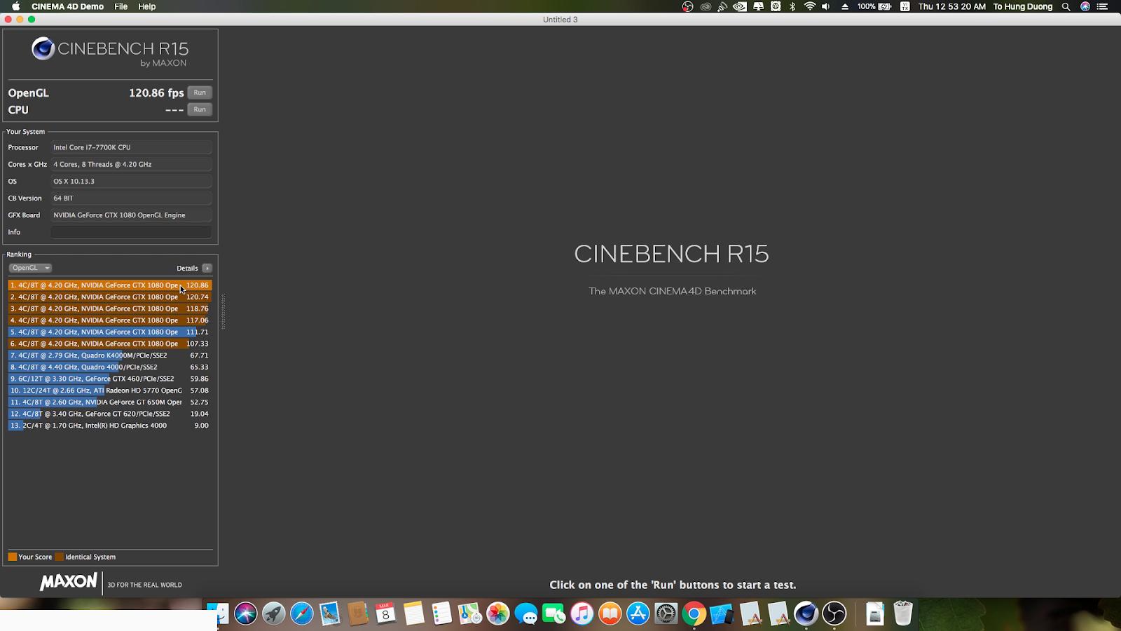 Hackintosh - Webdriver tốt nhất cho card màn hình nVidia Pascal trên