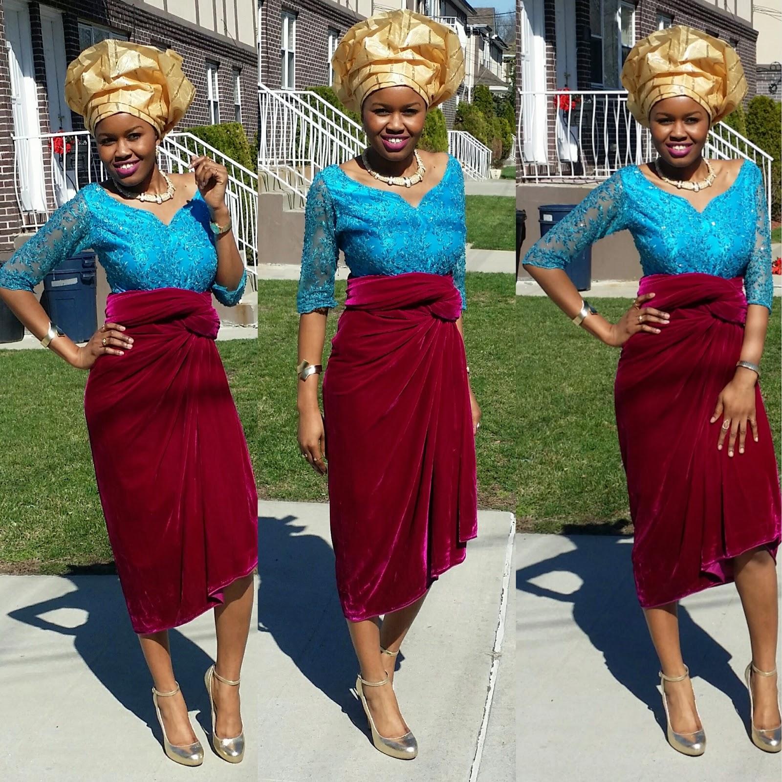 2d63145e3949 The wedding guest  African Fashion - Stylediarybyosy