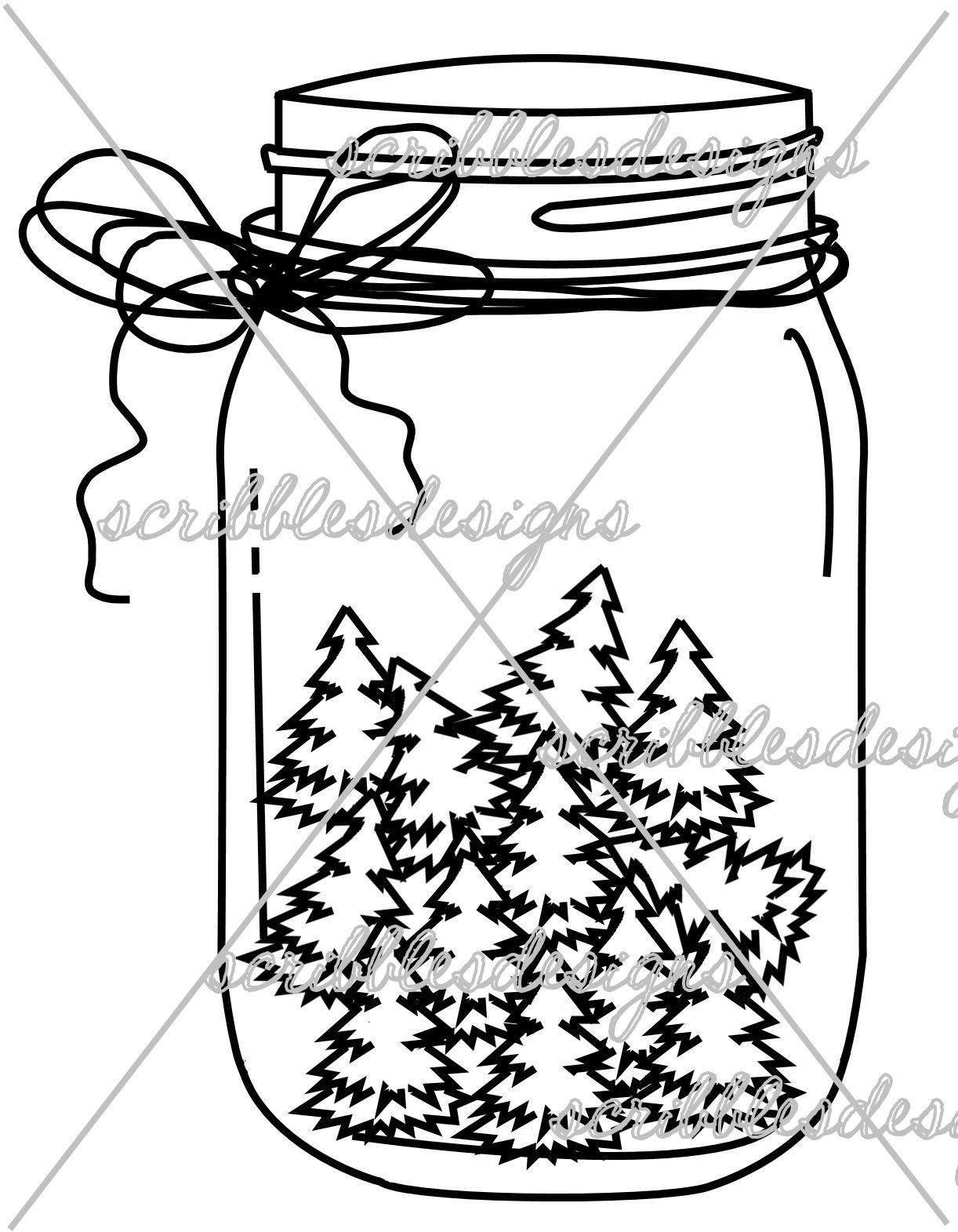 http://buyscribblesdesigns.blogspot.ca/2015/03/894-holiday-tree-mason-jar-300.html