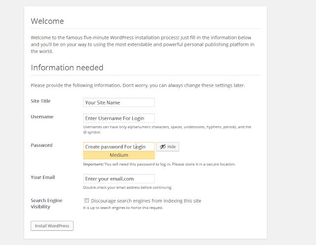 Installing WordPress Manually Beginner's Guide