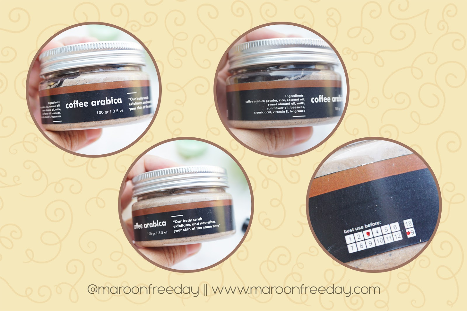 Review The Body Heart Body Scrub