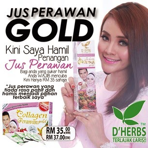 Ingin Cantik Jus Perawan Gold D Herbs