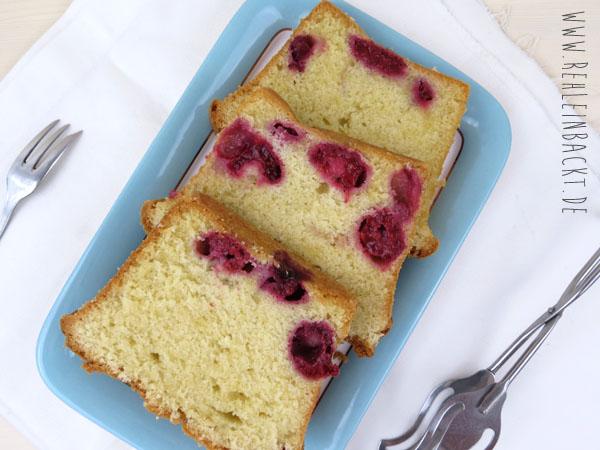 Lecker saftiger Himbeer-Mandel-Kuchen | Foodblog rehlein backt