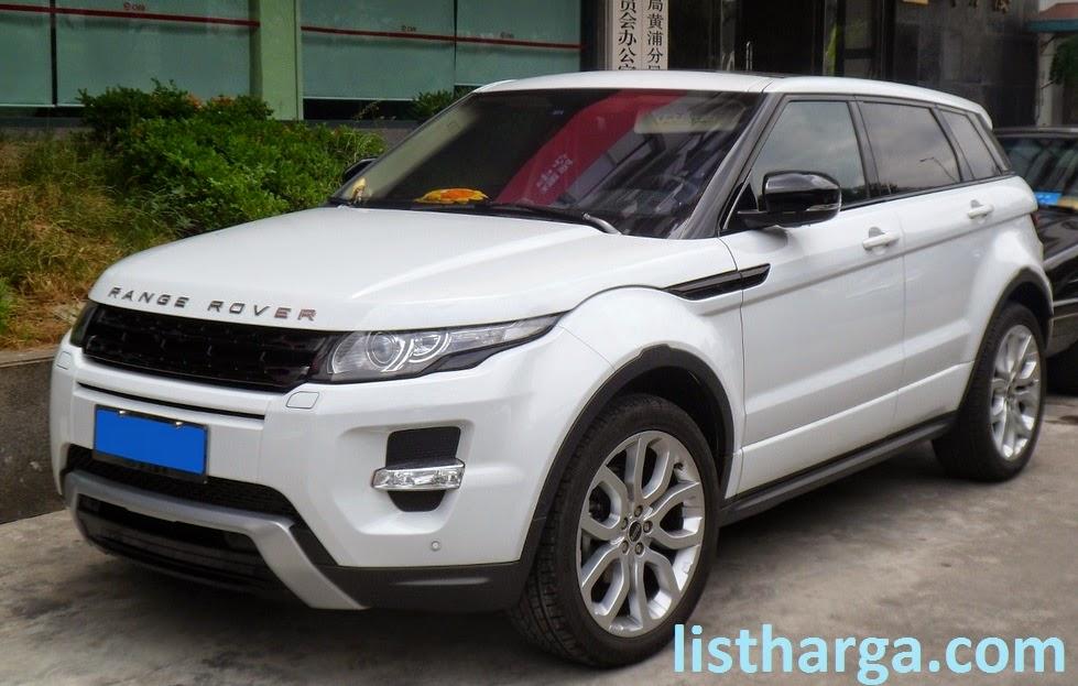 Daftar Harga Mobil Range Rover Terbaru