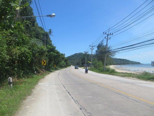 Главная дорога Самуи на Натон