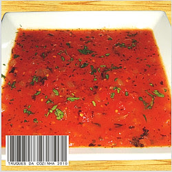 Molho de tomate com cebola refogada caseiro