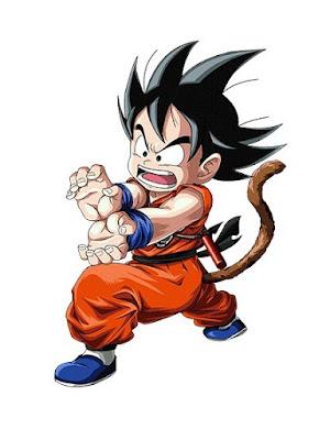 Goku en edad infantil
