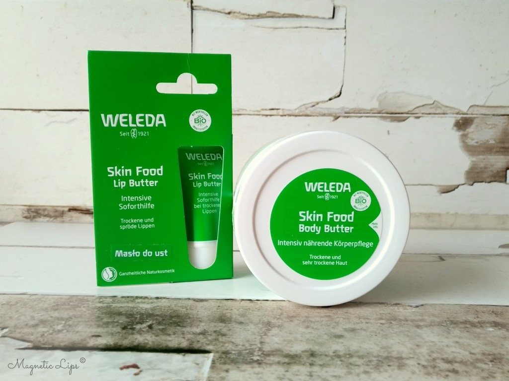 weleda skin foot lip butter