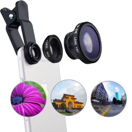 Camera Lens Kit for iPhone and Android - Pre-Order