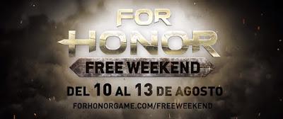 Juega gratis For Honor del 10 al 13 de Agosto y disfruta del multijugador mejorado