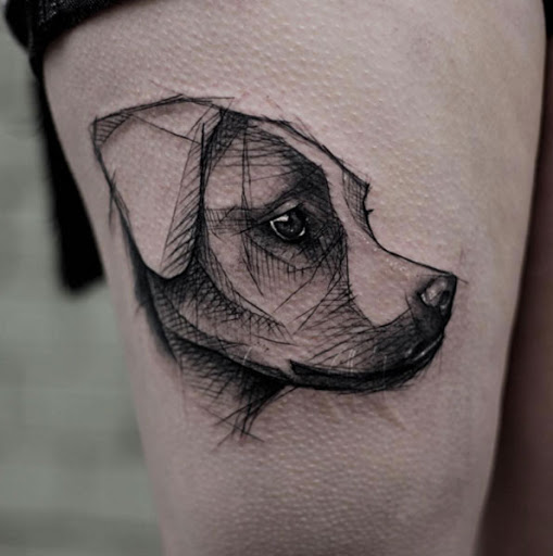 Este perfil de um cão
