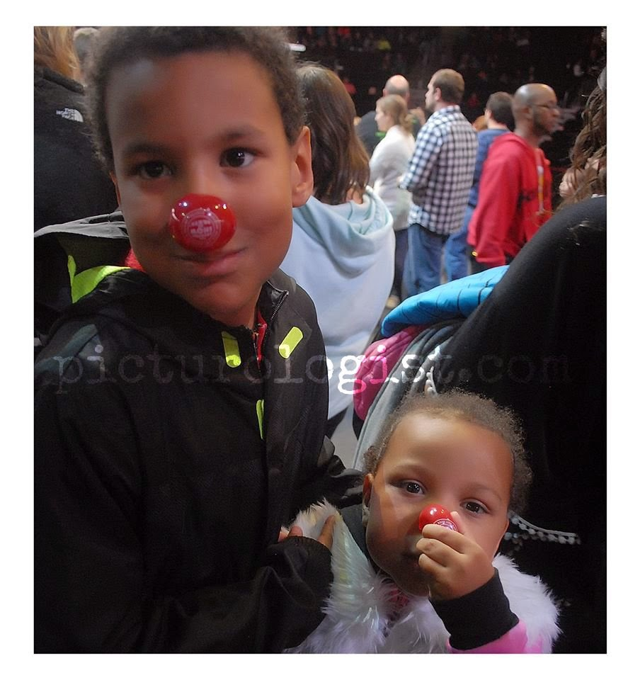 Kids and red noses | #RinglingInsider @MryJhnsn