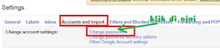Langkah Ganti Password Gmail
