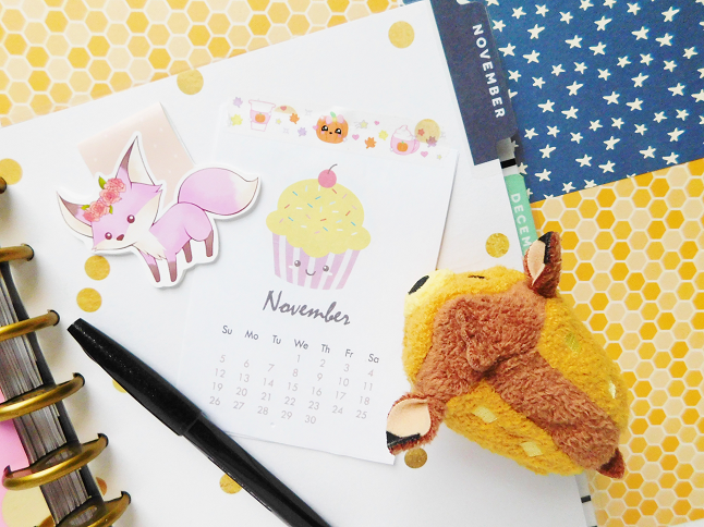 November Blog & Lifestyle Goals