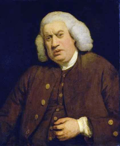 Samuel Johnson by Sir Joshua Reynolds, 1772