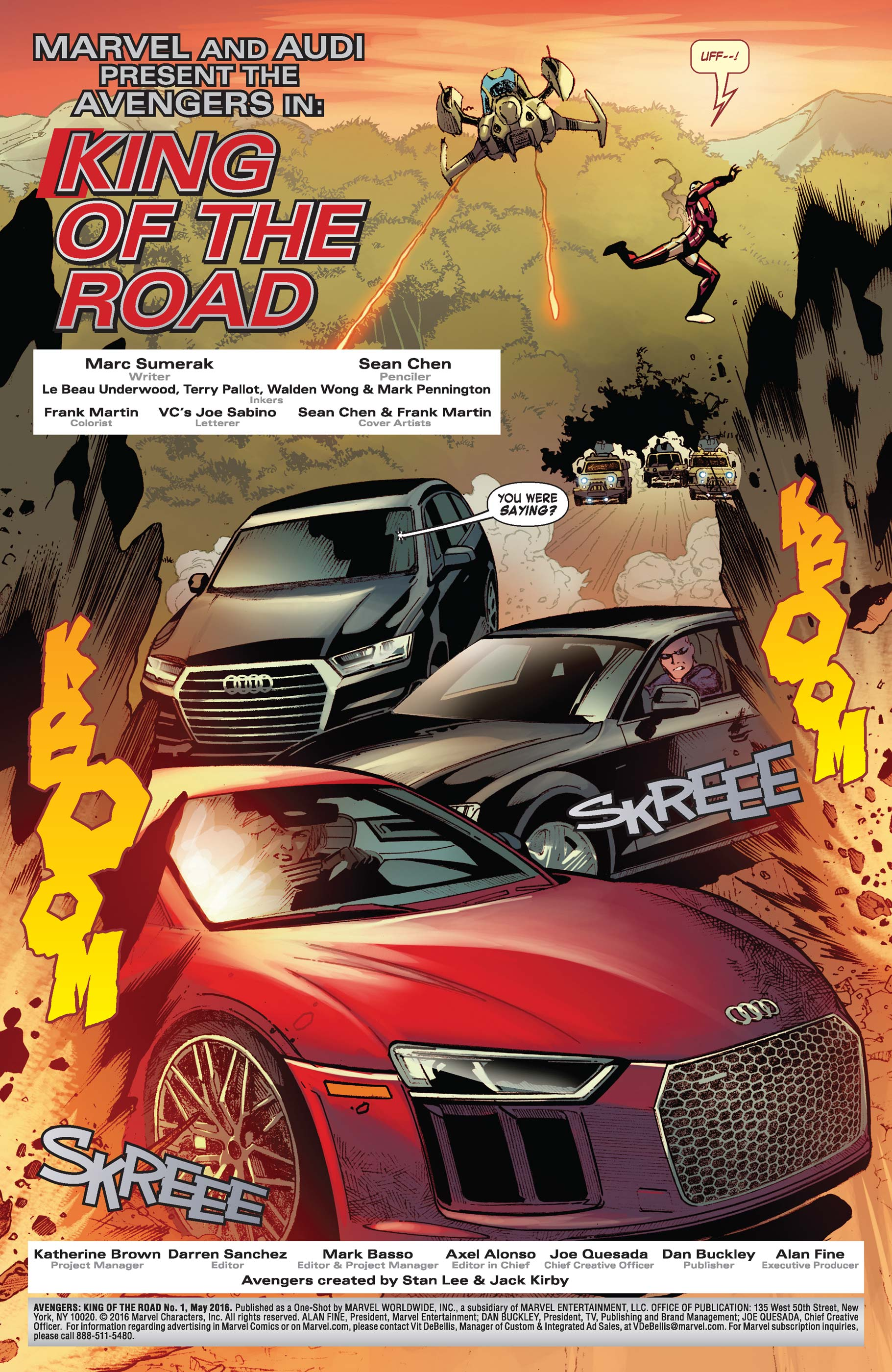 Read online Avengers: King of the Road comic -  Issue # Full - 3