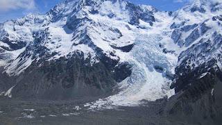 les glaciers alpins
