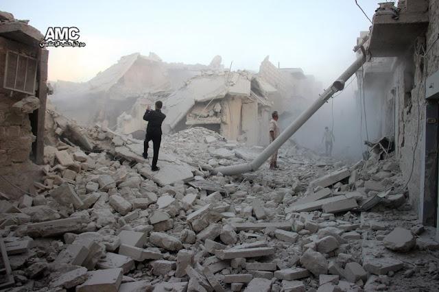Ρωσία - Άσαντ θέλουν πόλεμο στο Χαλέπι διότι κερδίζουν…