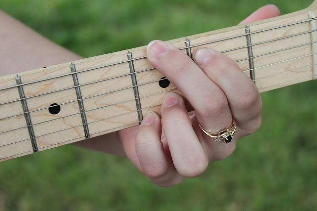 Acordes para guitarra.