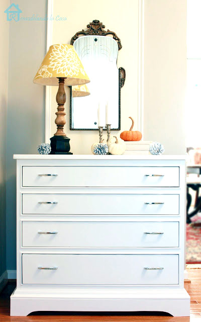 how to update the legs of a dresser