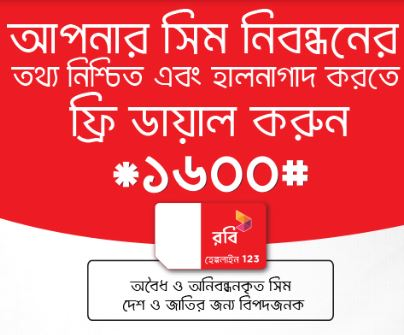 How to register your SIM by SMS & Online in GP, Robi, Banglalink