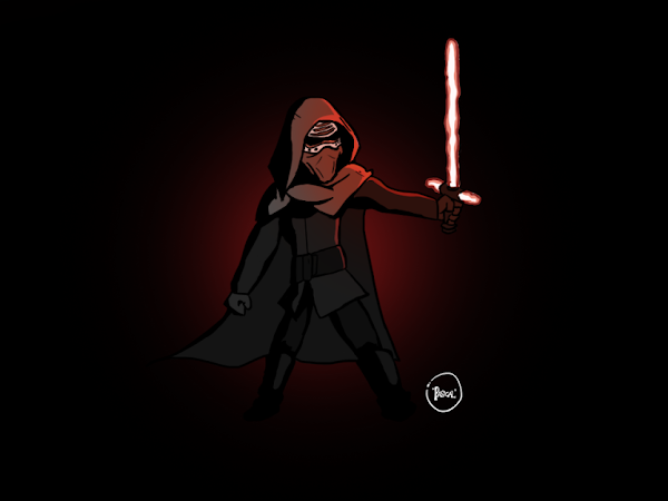 Kyloren Digital Drawing Is My Very First Drawing In 2019