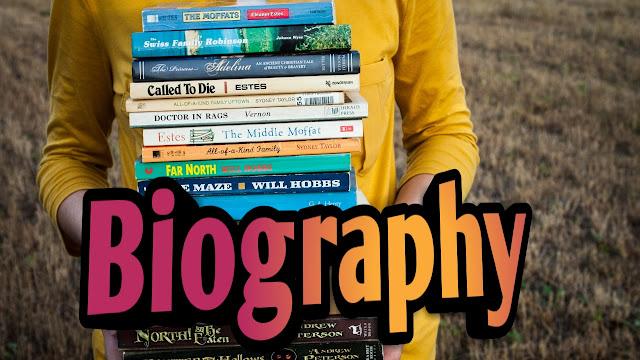 Biography blogger